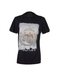 Romeo Y Julieta Short Sleeve T Shirts Dark Blue