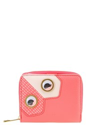 Fossil Emma Wallet Neon Coral