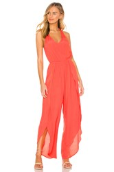 Cupcakes And Cashmere Camaro Jumpsuit Coral