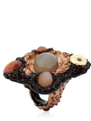 Opposite Jewels Moon Stone Ring