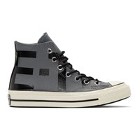 Converse Grey Leather Chuck 70 High Sneakers