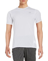 New Balance Athletic Tee White