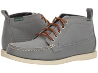 Eastland 1955 Edition Seneca Grey Canvas Lace Up Boots Gray