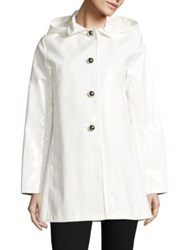 Jane Post Beverly Raincoat White