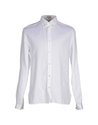 Galliano Shirts White