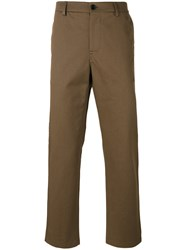 Golden Goose Deluxe Brand Straight Trousers Brown