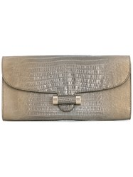 Yves Saint Laurent Vintage Small Clutch Grey