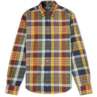 Gitman Brothers Vintage Archive Madras Shirt Yellow
