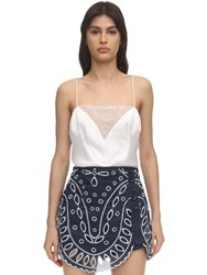 Alice Mccall Ethereal Lace Camisole Top White