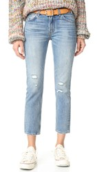Levi's 505 C Cropped Slim Straight Jeans Heat Stroke