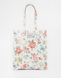 Cath Kidston Bookbag With Gusset Chalk