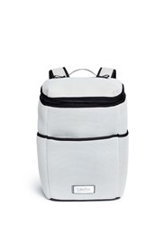 Calvin Klein Fragrances Plonge Mesh Backpack White