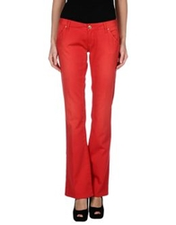 Massimo Rebecchi Denim Pants Red