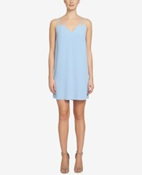 Cece Sweeny Tie Back Shift Dress Pale Blue