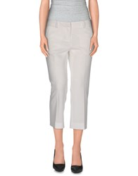 True Royal Trousers 3 4 Length Trousers Women Beige