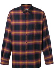 Adaptation Checked Shirt Black