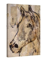 Marmont Hill Winner Horse Painting Painting Print On Wrapped Canvas Beige