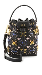 Sophie Hulme Embellished Bucket Bag Black