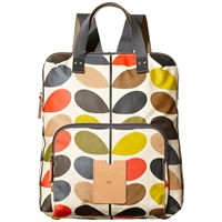 Orla Kiely Etc Classic Multi Stem Print Backpack Multi