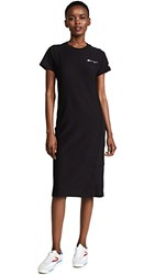 Champion Premium Reverse Weave T Shirt Dress Black