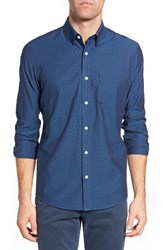 Nordstrom Men's Men's Shop Diamond Dobby Sport Shirt
