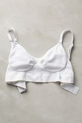 Anthropologie Miel Falaise Bra White M L Intimates