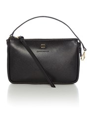 Coccinelle Black Crossbody Pouch Black