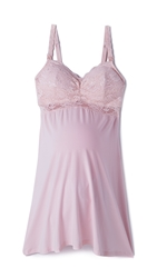 Cosabella Never Say Never Mommie Babydoll Pink Lilly