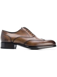 Tom Ford Lace Up Oxford Shoes Brown