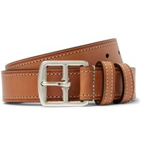 Andersons Anderson's 3Cm Brown Leather Belt Brown