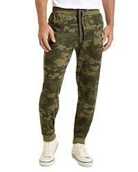 2Xist 2 X Ist Banded Ankle Terry Sweatpants Olive Camo