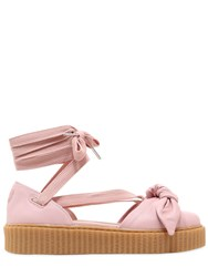 Fenty X Puma 30Mm Bow Creeper Lace Up Sandal Sneakers
