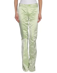Moschino Cheap And Chic Moschino Cheapandchic Trousers Formal Trousers Women Light Green