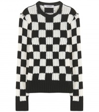 Valentino Wool And Cashmere Blend Sweater Black