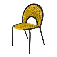 Moroso Banjooli Chair Yellow Black
