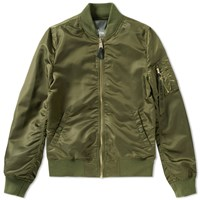 Alpha Industries Ma 1 Vf Lw Bomber Green