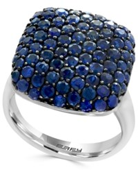 Effy Balissima Sapphire Pave Ring 3 3 8 Ct. T.W. Ring In Sterling Silver