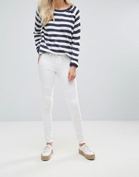 Blend She Bright Whitney White Skinny Jeans Bright White