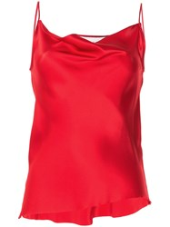 Marques Almeida Marques'almeida Draped Silk Cami Top 60