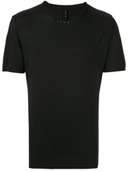 Transit Round Neck T Shirt Black