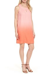 Tommy Bahama Women's Two Palms Short Sundress Cabana Pink Burnt Coral