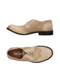Red Carpet Lace Up Shoes Sand