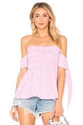 Endless Rose Off The Shoulder Top Pink
