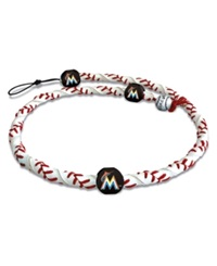 Game Wear Miami Marlins Frozen Rope Necklace Team Color