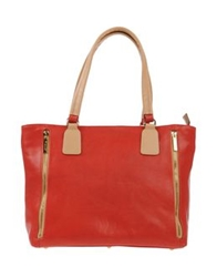 I Santi Handbags Brick Red