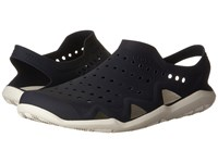 Crocs Swiftwater Wave Navy White Men's Sandals Blue