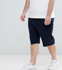 French Connection Plus Jersey Shorts Navy