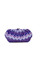 Santi Sequin Clutch Purple