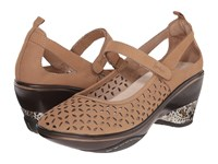 Jambu Calypso Taupe Women's Wedge Shoes