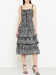 Marc Jacobs Leopard Print Dress Multi Black